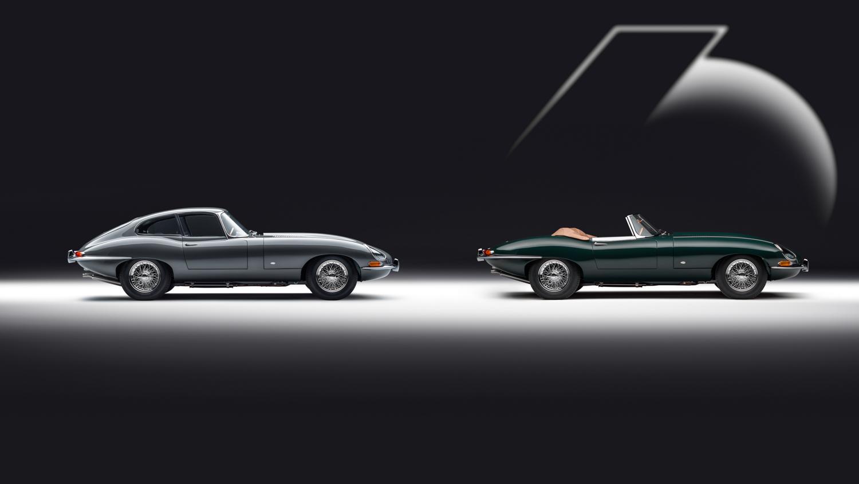 Jaguar E-Type 60 Collection: sei coppie (Coupé e Roadster) per i 60 anni di un mito
