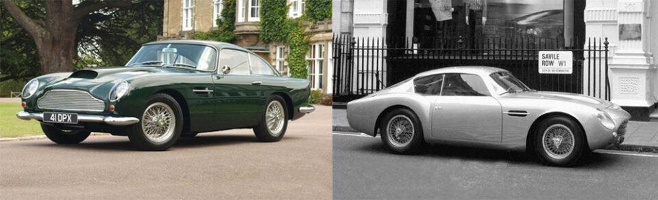 La DB4 GTe DB4 GTZagato sono due dei modelli più preziosi e importanti per una collezione, nella storia della casa Aston Martin.