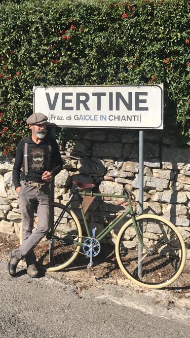 Sandro Cattelan in Chianti