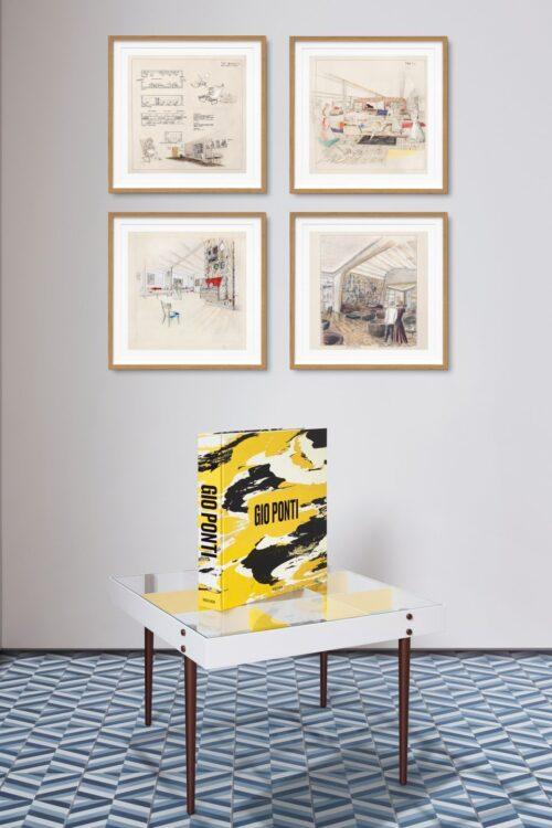Gio Ponti il libro, edito dalla casa editrice Taschen, ci immerge nel mondo visionario e caleidoscopico dell'architetto e designer italiano.