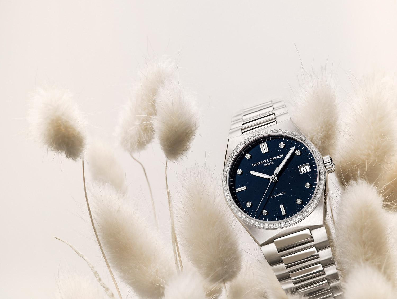 Frederique Constant è una manifattura orologiera svizzera, fondata nel 1988.Il brand crea orologi di lusso dedicati ad un pubblico femminile.