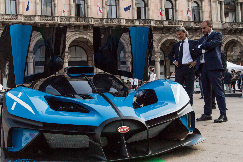 Bugatti Bolide  e Stephan Winkelmann
