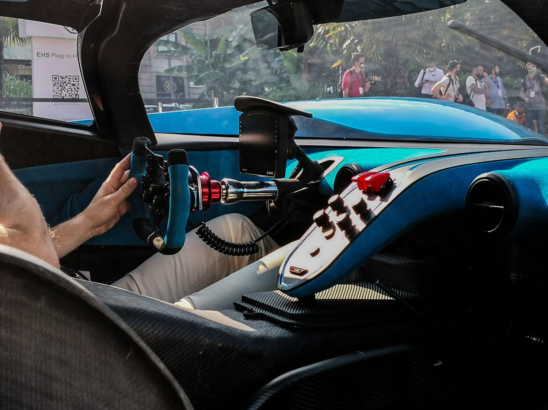 Bugatti Bolide interni
